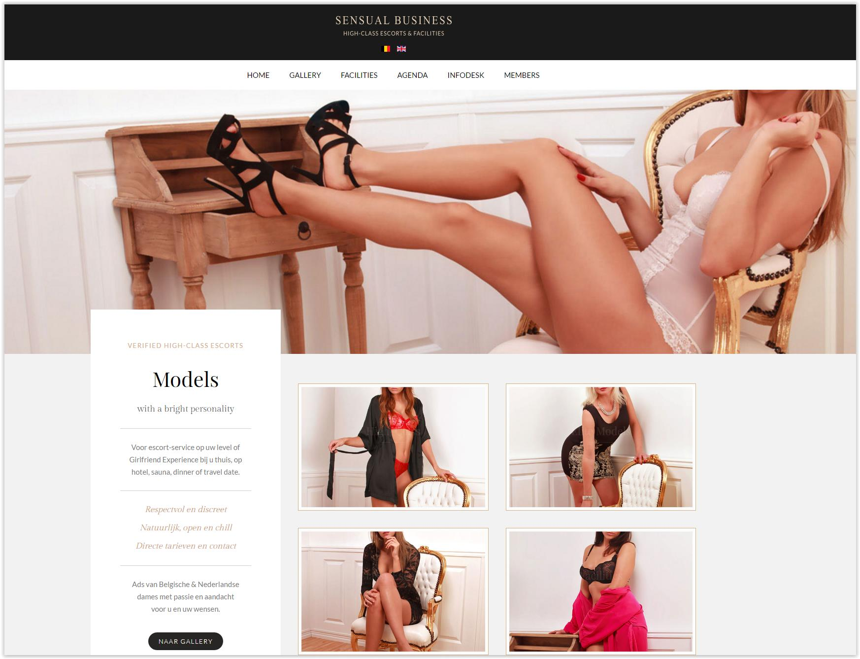 Website Sensual Business