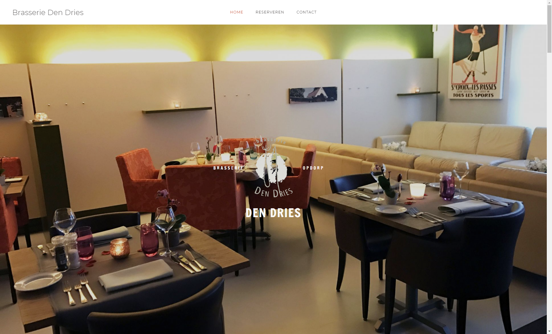 Website Brasserie Den Dries 2
