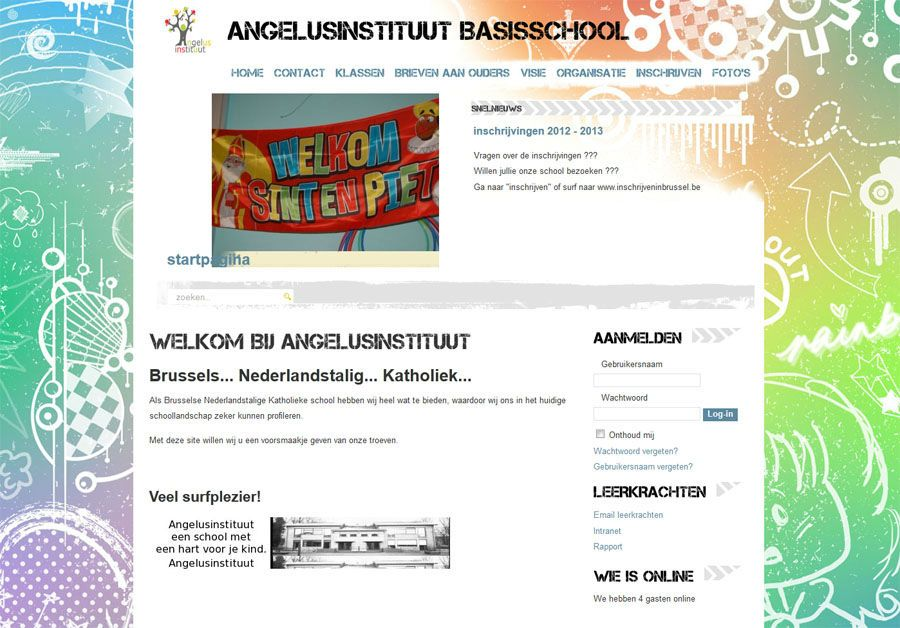 Website Angelusinstituut I