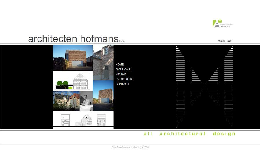 Website Architecten Hofmans
