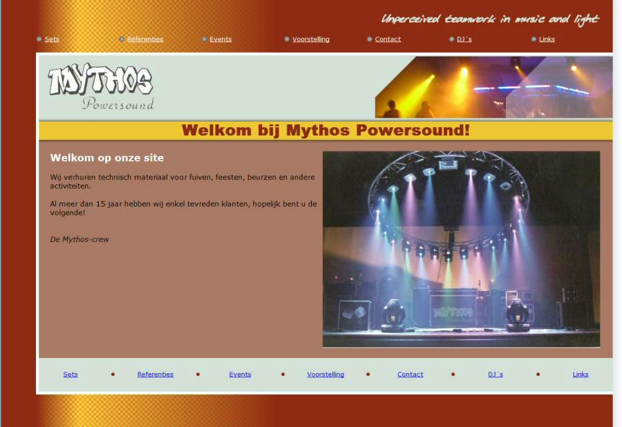 Website Mythos Powersound