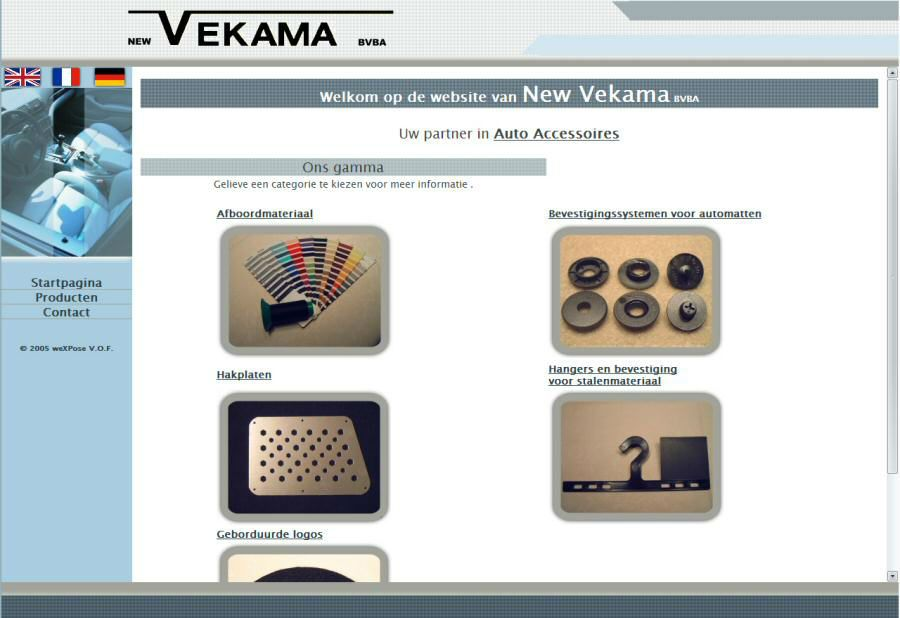 Website New Vekama