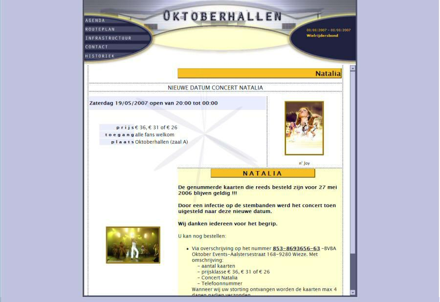 Website Oktoberhallen I