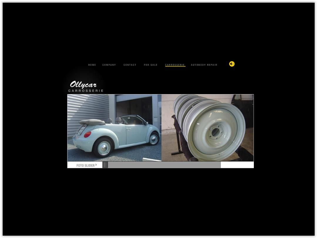 Aanpassingen website Ollycar